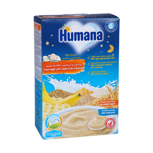 Humana Milk Cereals Night Banana 200gm