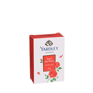 Yardley Red Roses Luxury Soap Bar 100gm