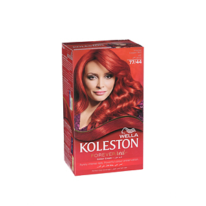 Wella Koleston Hair Color Cream Copper Red 77/44