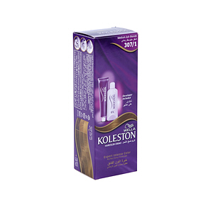 Wella Koleston Hair Color Cream Medium Ash Blonde 307/1