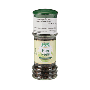 Fuchs Black Pepper Whole Grinder 50gm
