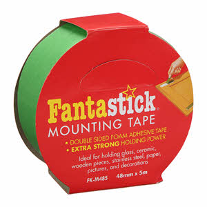 Fantastick Double Side Mounting Tape Green