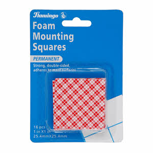 Flamingo Foam Mounting Squares Double