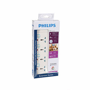Philips 4 Way Extention 4M