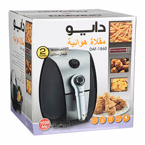 Daewoo Air Fryer 1500W