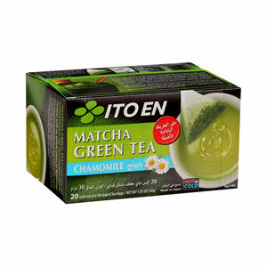 Ito En Matcha Green Tea Chamomle 30gm x 20PCS