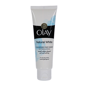 Olay Natural White Cleansing Face Wash with Mulberry Extract 100ml