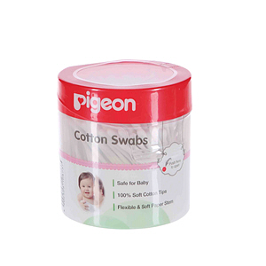 Pigeon Cotton Swabs Hinged Case 200'S