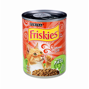 Friskies Clascplat Mixed Grill 130Oz