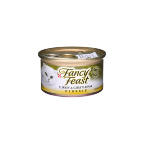 Fancy Feast Turkey & Giblets feast 85gm