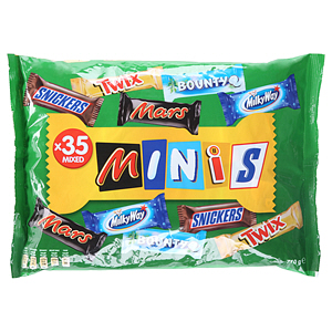 Best Of Minis Mixed Minis Chocolate Bag 710gm