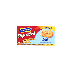 Mcvities Digestive Light Biscuits 250gm