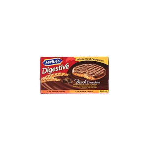 Mcvities Digestive Choco Plain 200gm