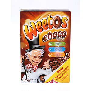 Weetabix Weetos Chocolate Riffic 375gm