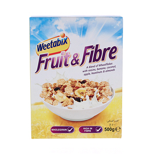 Weetabix Fruit & Fibers 500gm