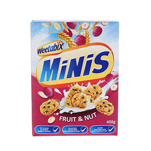 Weetabix Minis Fruit & Nut 450gm