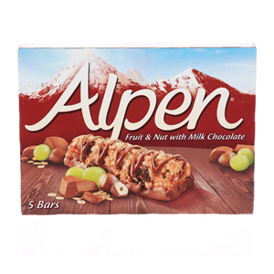 Alpen Bar Fruit & Nut Choco 29gX5'S