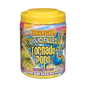 Zed Tornodo Sour Lolly Pop 33.25gm