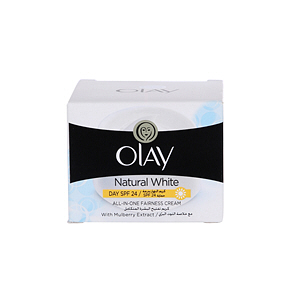 Olay Natural White All in one Fairness Cream with Mulberry Extract  50gm