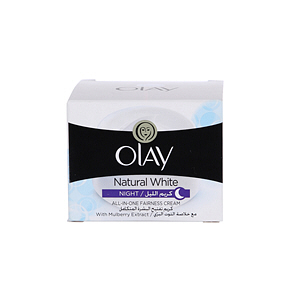 Olay Natural White Night Face Cream Apple 50gm