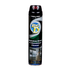 Big D Stainless Steel & Aluminm Ceaner 300ml