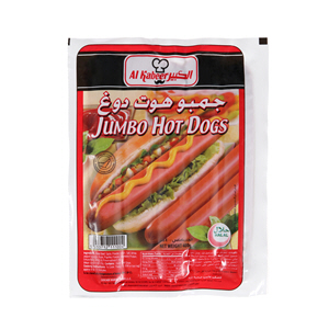 Al Kabeer Jumbo Hot Dogs 400gm
