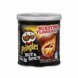 Pringles Hot & Spicy Chips 40Gm