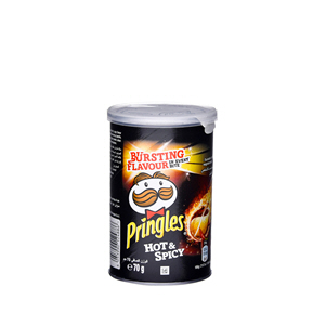 Pringles Chips Hot & Spicy 70gm