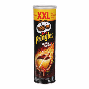 Pringles Hot & Spicy Chips 200Gm