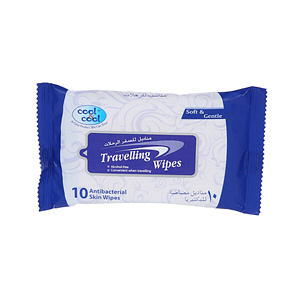 Cool&Cool Travelling Wipes 10Wipes