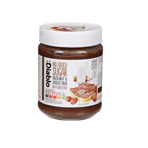 Diablo Sugar Free Hazelnut Chocolate Spread 350gm