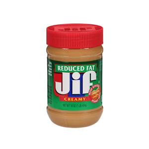 Jif Creamy Peanut Butter Reduced Fat 454gm