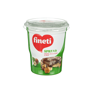 Finetti Cocoa Spread  with Hazelnut & Milk 400gm