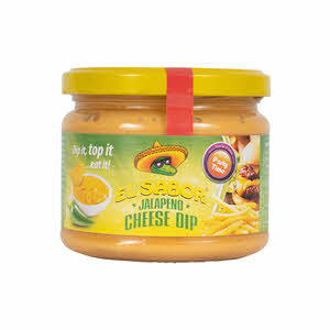 Elsabor Jalapeno Cheese Dip Jar 300gm