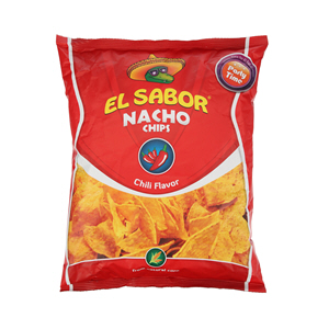 El Sabor Nachos Chilli Flavor Chips 225gm