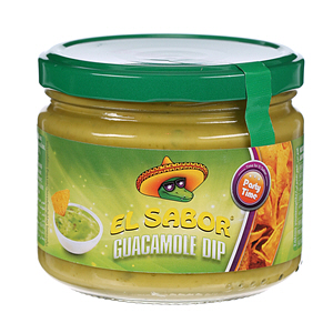 El Sabor Nacho And Dip Guacamole 175gm
