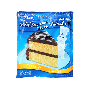 Pillsbury Cake Mix Yellow 485gm