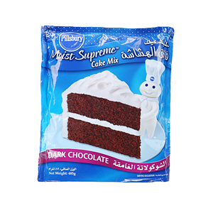 Pillsbury Cake Mix Dark Choco 485gm