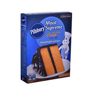 Pillsbury Cake Mix Orange 485Gm