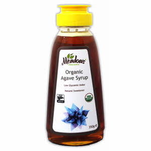 Meadows Organic Agave Syrup 350gm