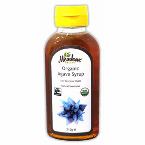 Meadows Organic Agave Syrup 210gm
