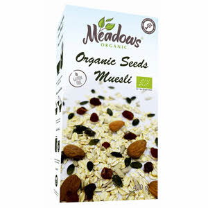 Meadows Organic Seeds Muesli 400gm