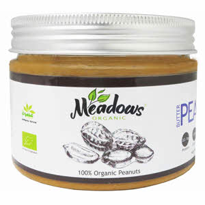 Meadows Organic Peanut Butter Sweet 280gm