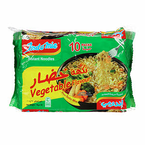 Indomie Vegetablee Noodles 10 X 75Gm