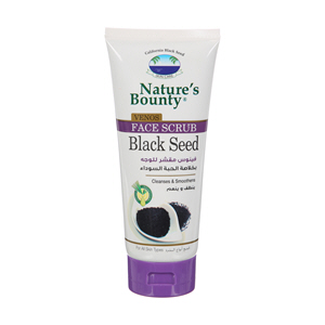 Natures Bounty Venus Face Scrub Black Seed 200ml