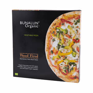 Bunalun Organic Vegetable Pizza 427gm
