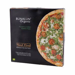Bunalun Organic Rocket & Tom Pizza 392gm
