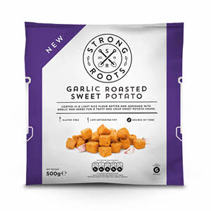 Strong Roots Garlic Roasted Sweet Potato 500gm