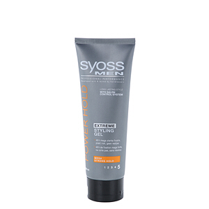 Syoss Men Styling Gel Power Hold 250ml