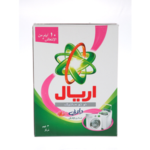 Ariel Detergent Concentrated Green Automatic with Downy Touch of refreshment 3Kg